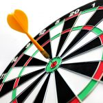 Darts - bullseye - target practice - target marketing - business concepts